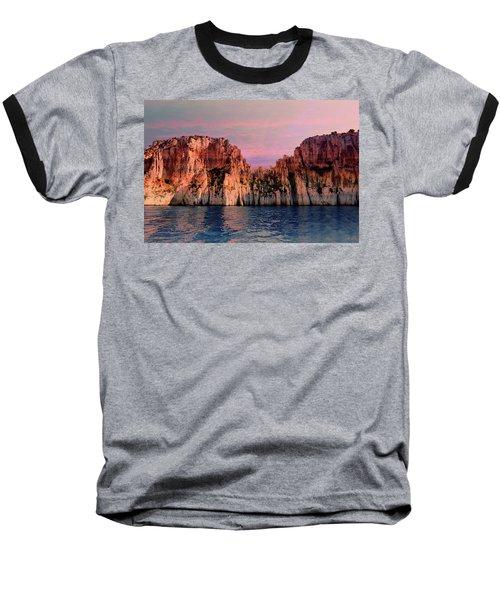 Calanques De Marseille .  Baseball T-Shirt