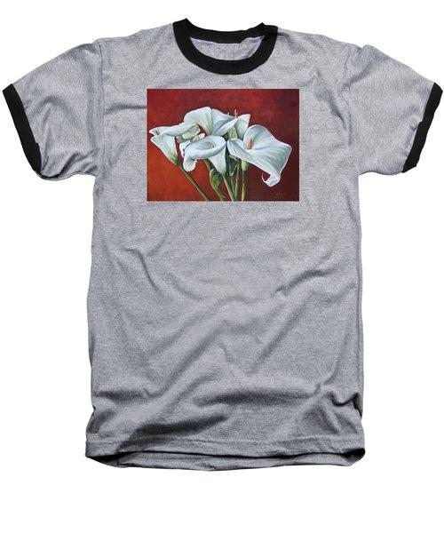 Calas Baseball T-Shirt by Natalia Tejera
