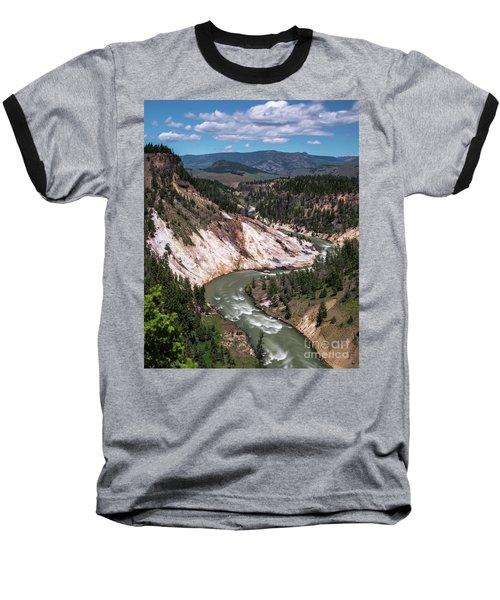 Calcite Springs Overlook  Baseball T-Shirt