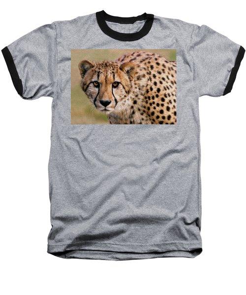 Calculated Look Baseball T-Shirt