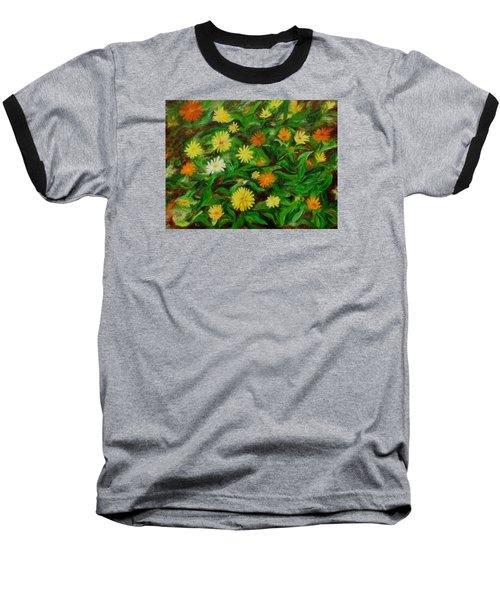 Calendula Baseball T-Shirt