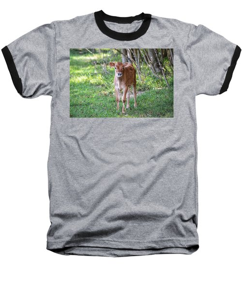 Calf  Baseball T-Shirt