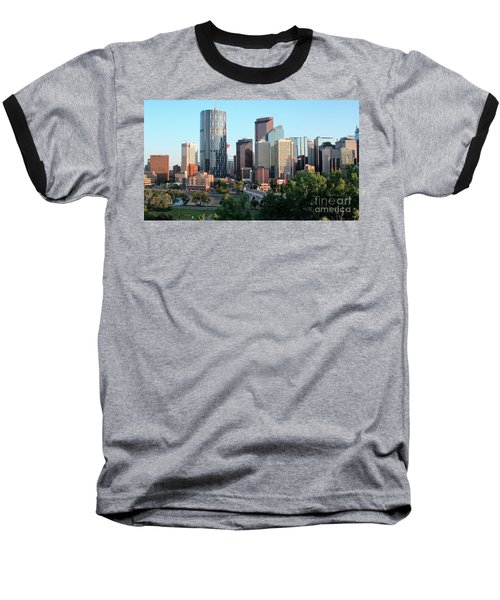 Calgary 2 Baseball T-Shirt
