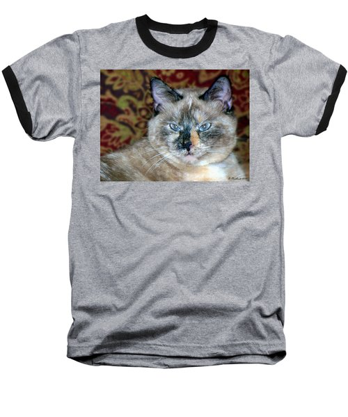 Baseball T-Shirt featuring the photograph Cali-mese by Betty Northcutt