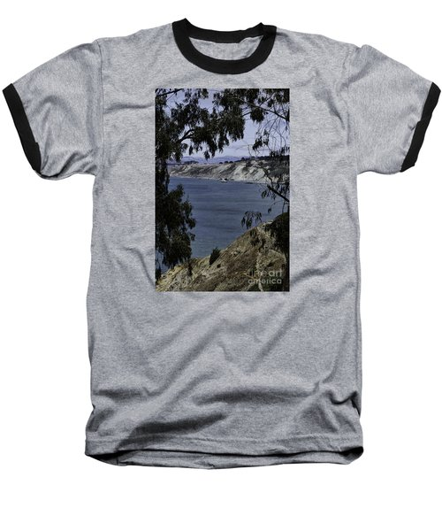 Baseball T-Shirt featuring the photograph Cali Shore by Judy Wolinsky