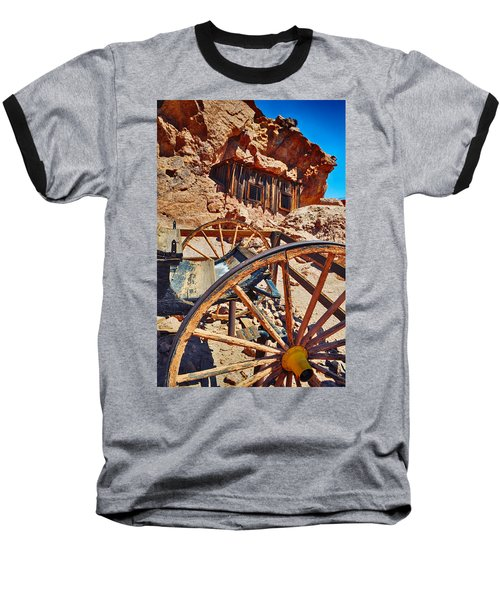Calico Ghost Town Mine Baseball T-Shirt