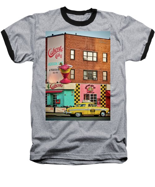 Caliente Cab Baseball T-Shirt