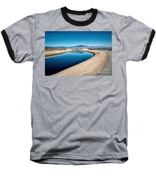 California Aqueduct At Fairmont Baseball T-Shirt