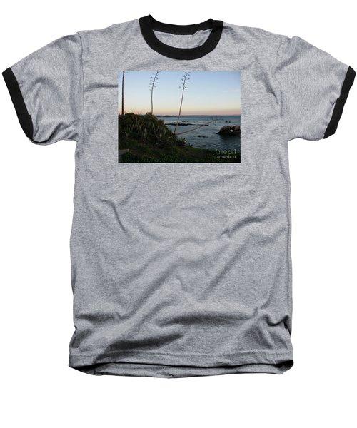 California At Twilight Baseball T-Shirt