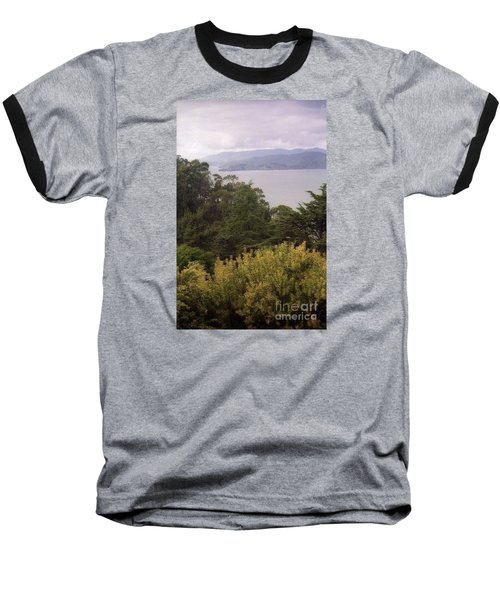 California Coast Fan Francisco Baseball T-Shirt by Ted Pollard