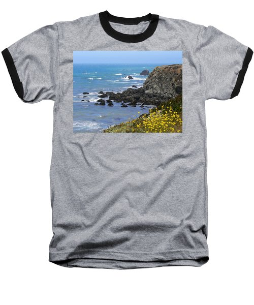 California Coast Baseball T-Shirt by Laurel Powell