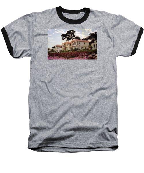 California Coastal Hotel Baseball T-Shirt
