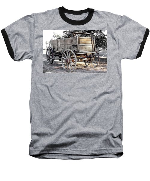 California Farm Wagon Baseball T-Shirt