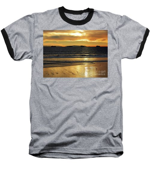 California Gold Baseball T-Shirt by Everette McMahan jr