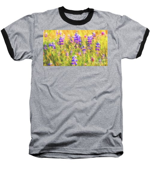 California Lupines Redux Baseball T-Shirt