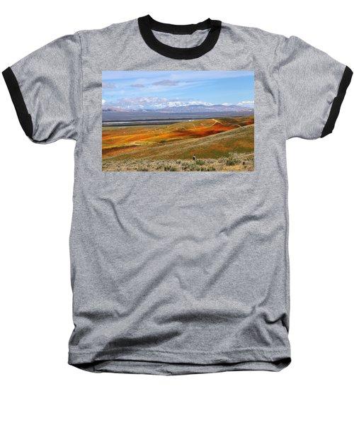 California Poppy Reserve Baseball T-Shirt