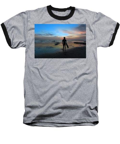 California Surfer Baseball T-Shirt