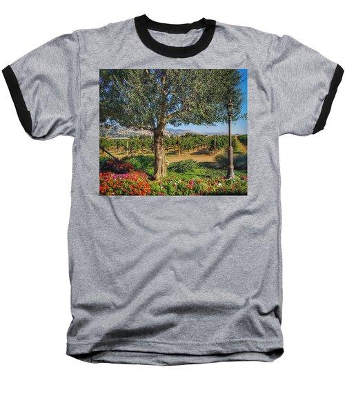 California Wine Country Baseball T-Shirt