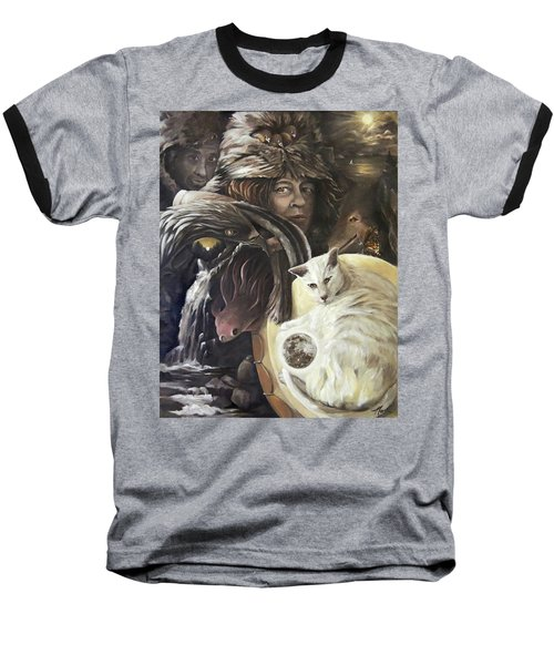 Call To The Spirits Baseball T-Shirt