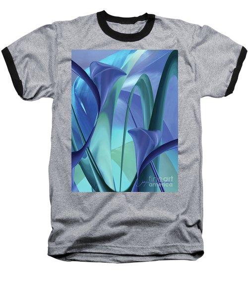 Calla Lilies Baseball T-Shirt