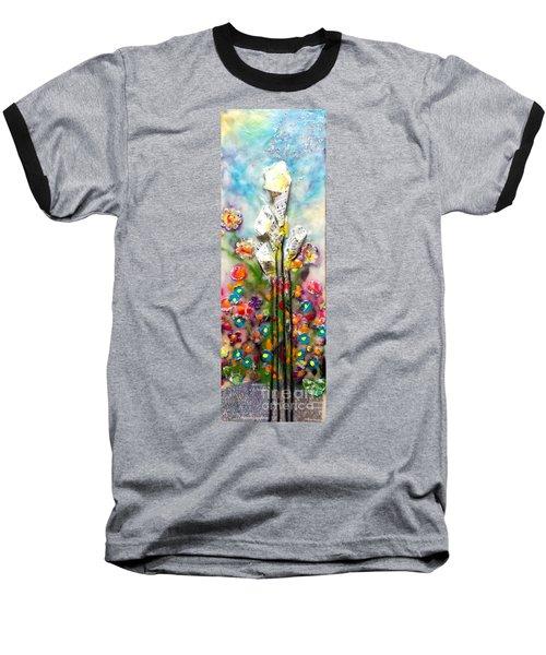 Calla Lily Dance Baseball T-Shirt