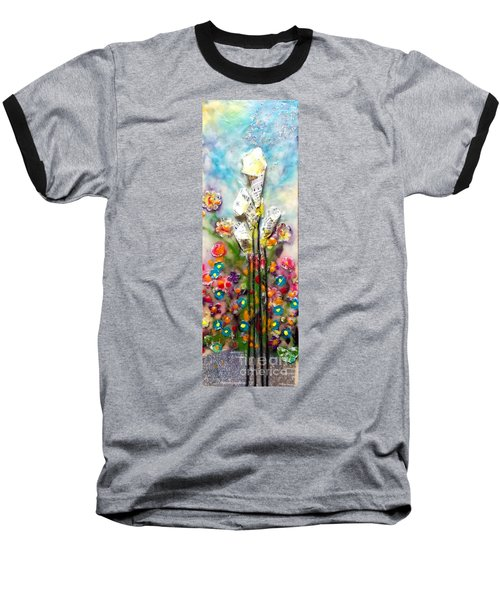 Calla Lily Dance Baseball T-Shirt