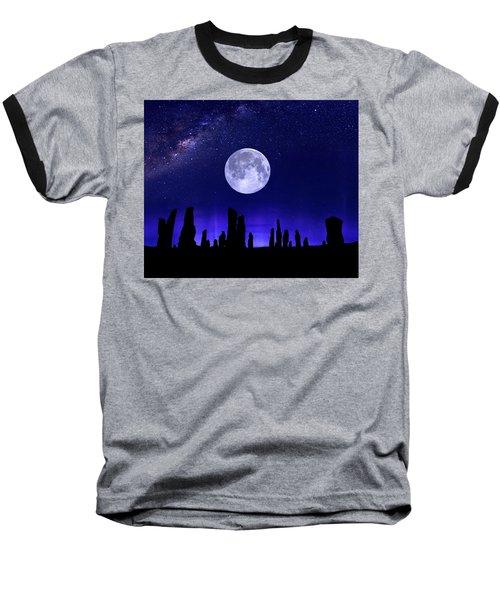 Callanish Stones Under The Supermoon.  Baseball T-Shirt