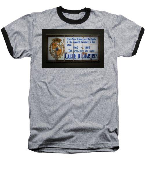 Calle De Chartres Baseball T-Shirt