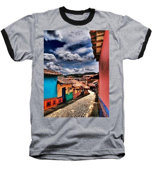 Calle De Colores Baseball T-Shirt