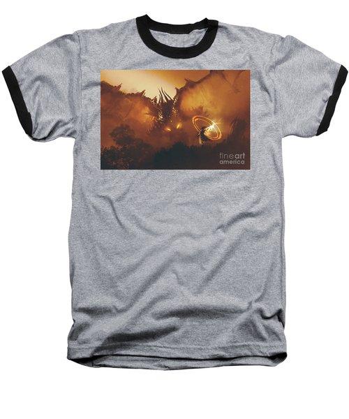 Calling Of The Dragon Baseball T-Shirt