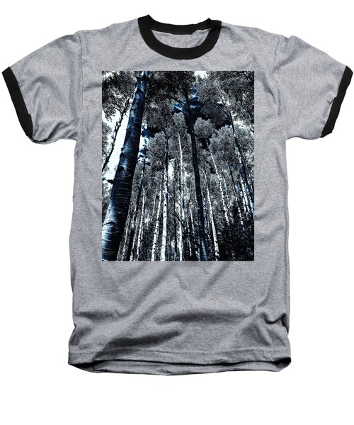 Calm Amongst The Aspens Baseball T-Shirt