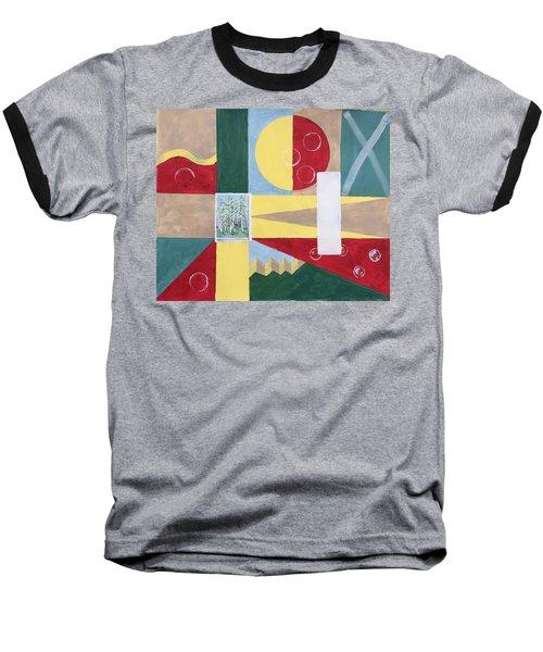 Calm And Chaos Baseball T-Shirt