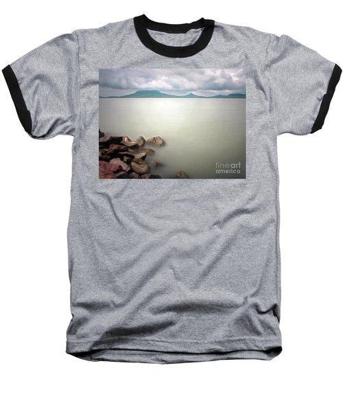 Calm At The Lake Baseball T-Shirt