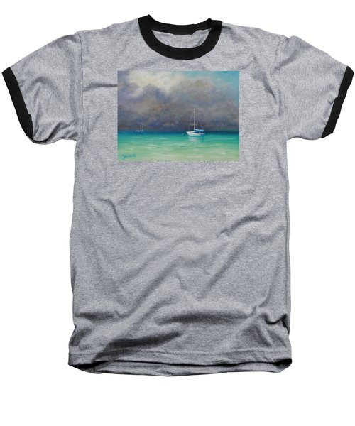 Calm Before The Storm Baseball T-Shirt