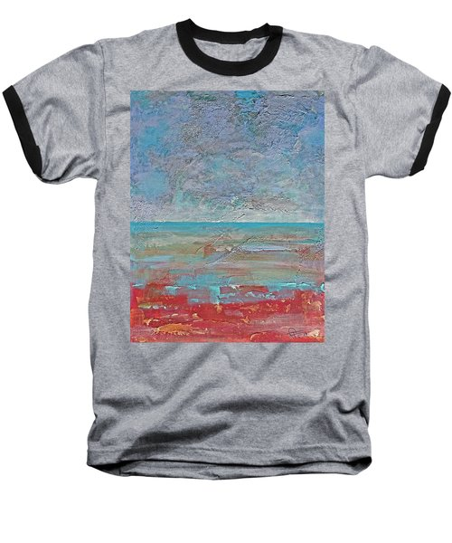 Calm Before The Storm Baseball T-Shirt by Walter Fahmy