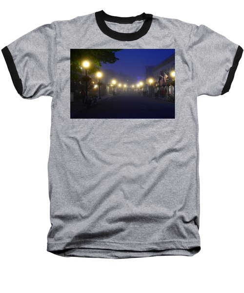 Calm In The Streets Baseball T-Shirt