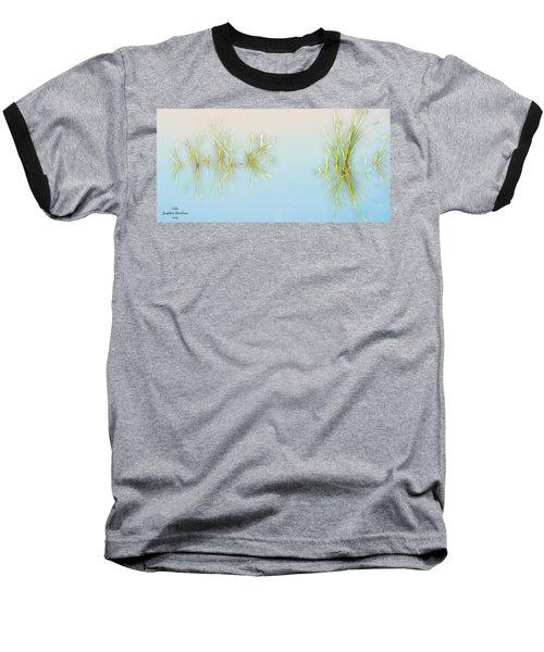 Calm Baseball T-Shirt by Josephine Buschman