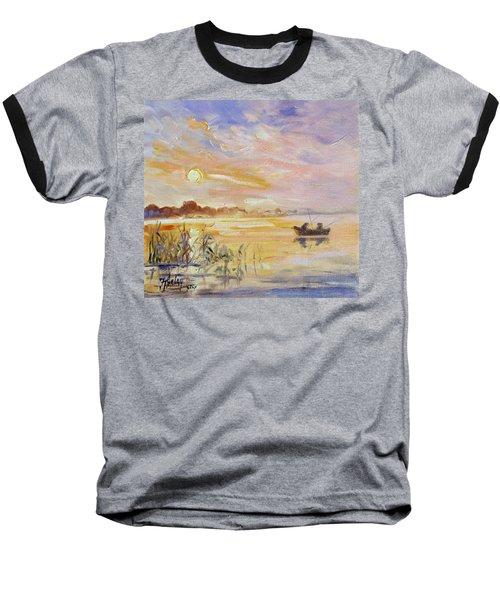 Calm Morning Baseball T-Shirt