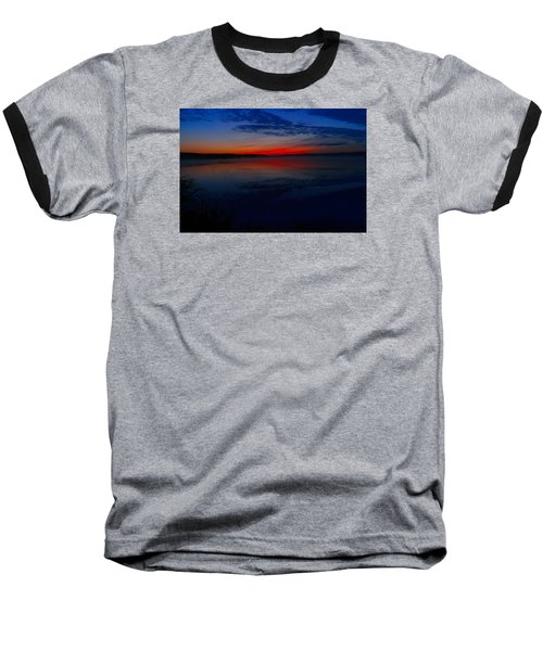 Calm Of Early Morn Baseball T-Shirt by Jeff Swan