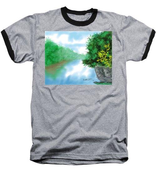 Calm River Baseball T-Shirt
