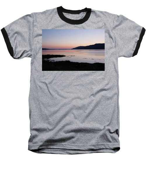 Calm Sunset Loch Scridain Baseball T-Shirt