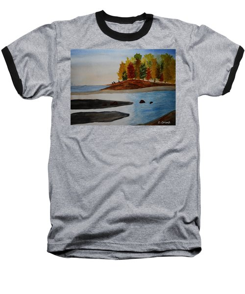 Calm Tide Baseball T-Shirt