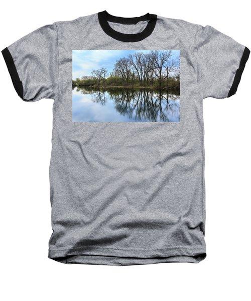 Calm Waters At Wayne Woods Baseball T-Shirt