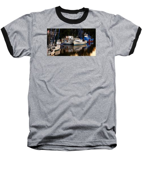 Baseball T-Shirt featuring the photograph Calm Waters by Laura Ragland