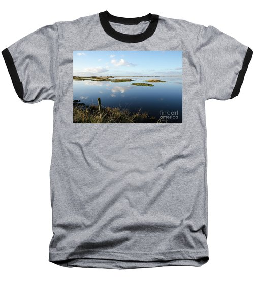 Calm Wetland Baseball T-Shirt by Kennerth and Birgitta Kullman