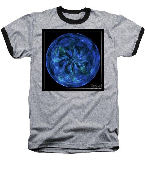 Calming Blue Orb Baseball T-Shirt