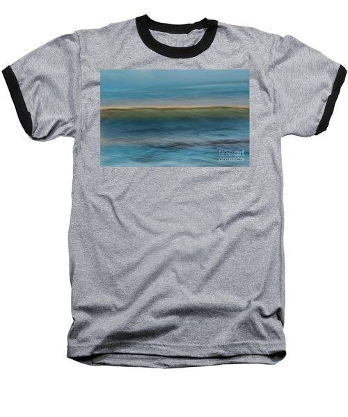 Calming Blue Baseball T-Shirt