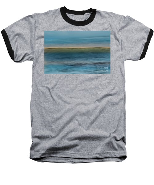 Calming Blue Baseball T-Shirt