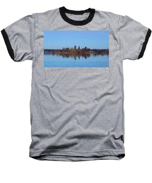 Calumet Island Reflections Baseball T-Shirt