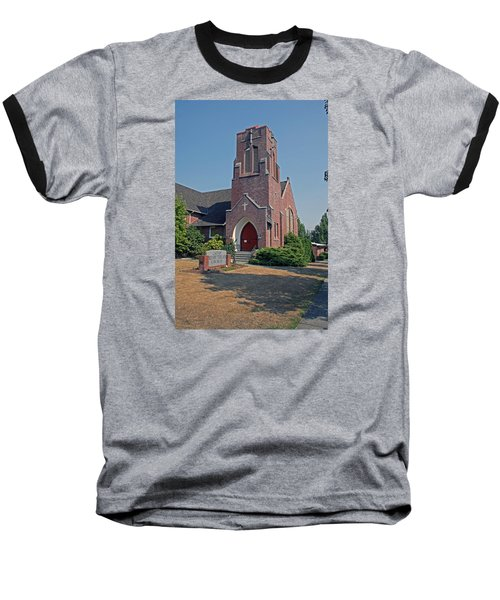 Calvary Presbyterian Church Baseball T-Shirt